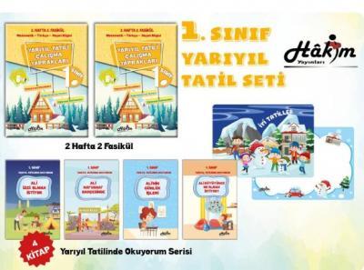 Hakim Yayınları 1. Sınıf Kış tatil Seti
