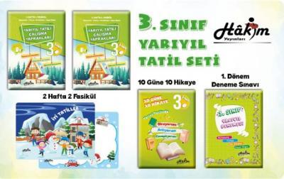 Hakim Yayınları 3. Sınıf Kış Tatil Seti