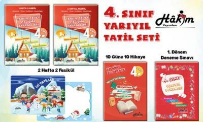Hakim Yayınları 4. Sınıf Kış Tatil Seti