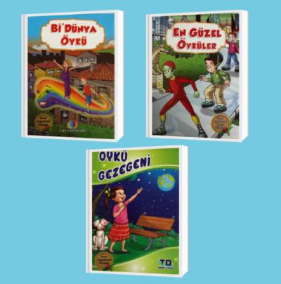 Okuma Zamanı Seti 3. Sınıf (En Güzel Öyküler + Bi'dünya Öyküler + Öykü Gezegeni)