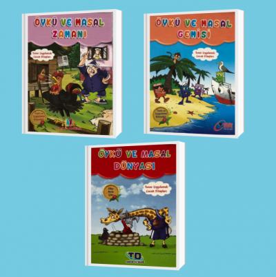 Okuma Zamanı Seti 4. Sınıf (Öykü ve Masal Gemisi + Öykü ve Masal Zaman