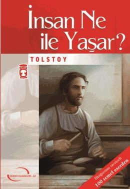 Insan Ne Ile Yaşar - %40 indirimli  - Lev Nikolayeviç Tolstoy - Timaş