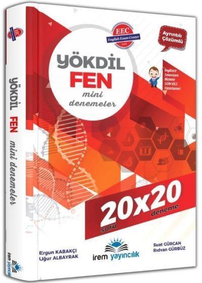 İrem YÖKDİL Fen Bilimleri 20x20 Mini Deneme
