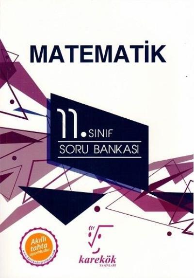 Karekök 11. Sınıf Matematik Soru Bankası-YENİ