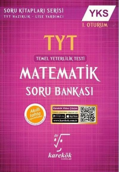Karekök YKS TYT Matematik Soru Bankası 1. Oturum YENİ %32 indirimli Mu