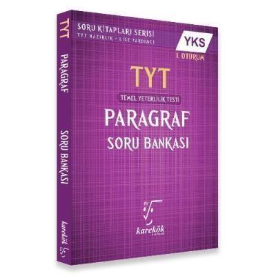 Karekök TYT Paragraf Soru Bankası 1. Oturum