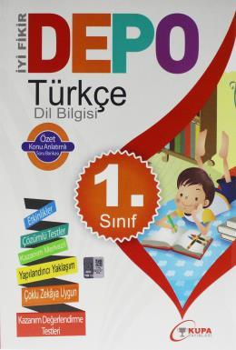 Kupa Depo 1 Sınıf Türkçe Dil Bilgisi Konu Özetli Soru Bankası