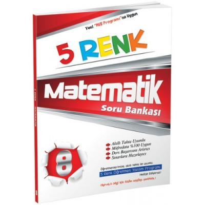 5 Renk Matematik Soru Bankası 8. Sınıf