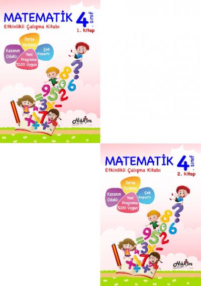 Hakim Etkinlikli Matematik Çalışma Kitabı 4.Sınıf