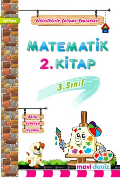 Mavi Deniz Yayınları 3. Sınıf Matematik 2.Kitap