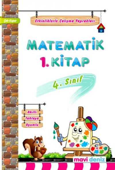 Mavi Deniz Yayınları 4. Sınıf Matematik 1.Kitap