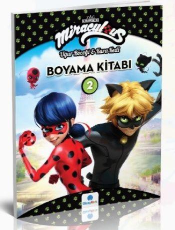 Miraculous Boyama Kitabi 2 Ugur Bocegi Ve Kara Kedi