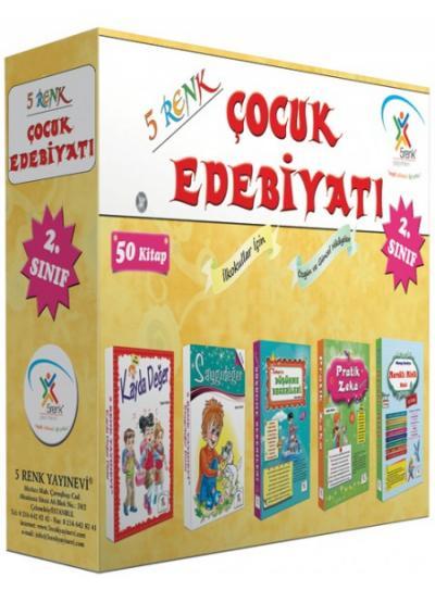 5 Renk Yayınları 2. Çocuk Edebiyatı (50 Kitap) 5 Renk Yayın Kurulu