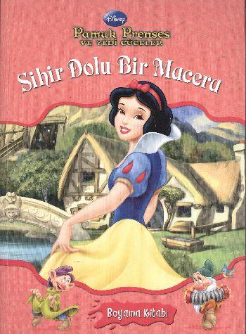 Pamuk Prenses Ve Yedi Cüceler Boyama Kitabı Sihir Dolu Bir Macera 25