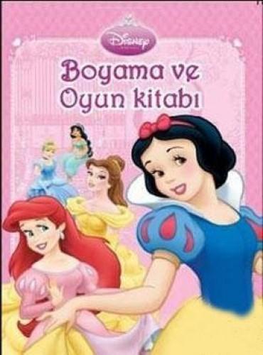 Disney Prenses Boyama Ve Oyun Kitabi 25 Indirimli