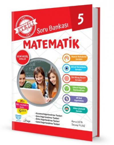 Gendaş Etkili Soru Bankası 5.Sınıf Matematik (2019 Yeni Müfredat )