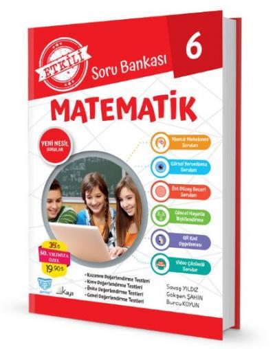 Gendaş Etkili Soru Bankası 6.Sınıf Matematik (2019 Yeni Müfredat )