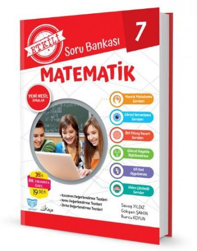 Gendaş Etkili Soru Bankası 7.Sınıf Matematik (2019 Yeni Müfredat )