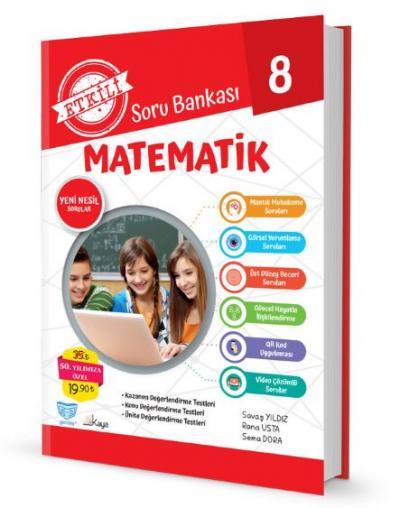 Gendaş Etkili Soru Bankası 8.Sınıf Matematik (2019 Yeni Müfredat )
