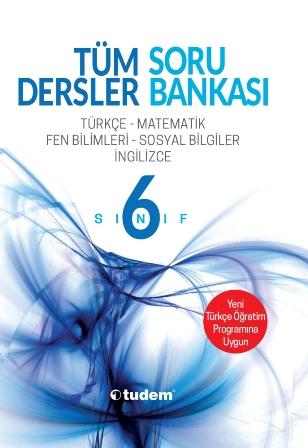 Tudem 6.Sınıf Tüm Dersler Soru Bankası