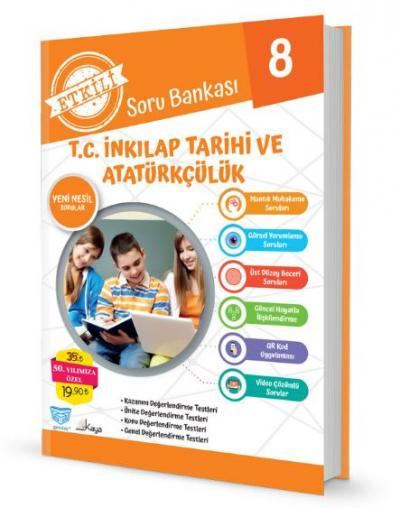 Gendaş Etkili Soru Bankası 8.Sınıf İnkılap Tarihi ve Atatürkçülük (2019 Yeni Müfredat )