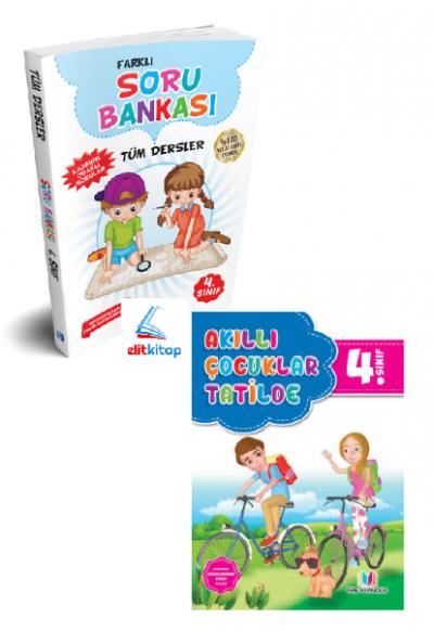 Yaz Tatil Seti 4.Sınıf (Tatil Kitabı + Soru Bankası)