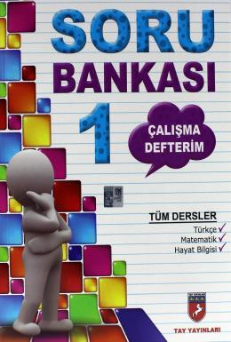 Tay Tüm Dersler 1. Sınıf Soru Bankası Çalışma Defterim