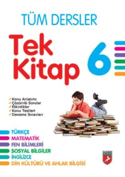 Tay Yayınları 6. Sınıf Tüm Dersler Tek Kitap