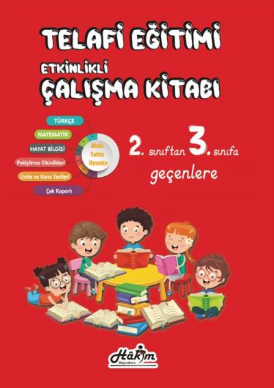 Telafi Eğitim 3.Sınıfa Geçenler İçin Hakim Yayınları
