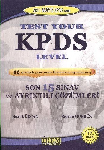 Test Your KPDS Level Son 15 Sınav ve Ayrıntılı Çözümleri
