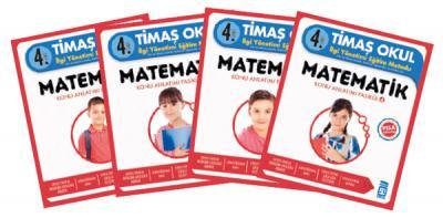 Timaş 4. Sınıf Matematik ( 4 Kitap )