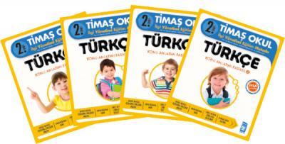 Timaş 2. Sınıf Türkçe ( 4 Kitap )