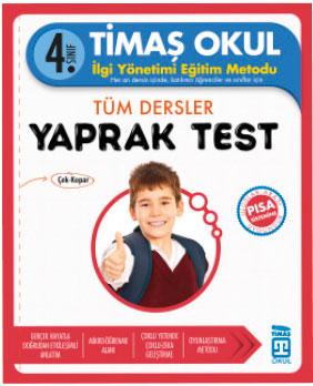 Timaş 4. Sınıf Tüm Dersler Yaprak Test (2017 Basım)
