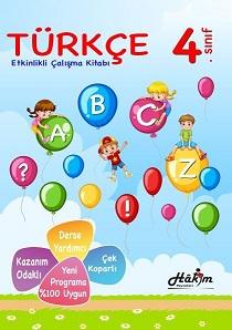 Hakim Etkinlikli Türkçe Çalışma Kitabı 4.Sınıf
