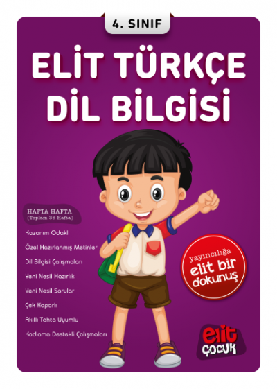 Elit Türkçe Dil Bilgisi 4. Sınıf