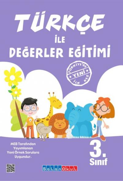 Salanokul Türkçe ile Değerler Eğitimi 3.Sınıf