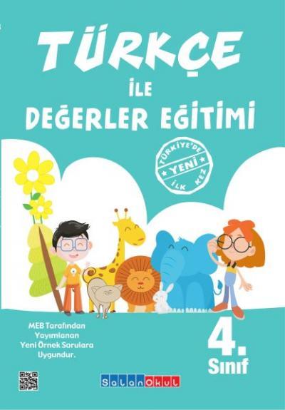 Salanokul Türkçe ile Değerler Eğitimi 4.Sınıf