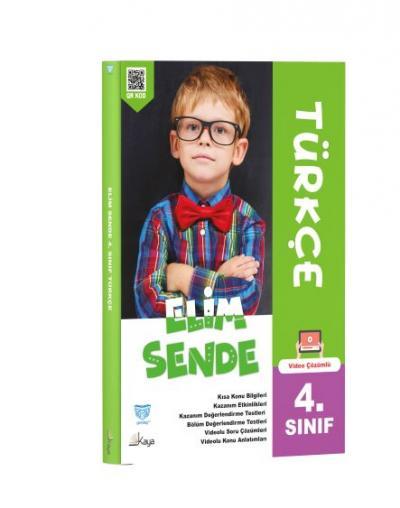 Gendaş Kaya Yayınları 4. Sınıf Elimsende Türkçe