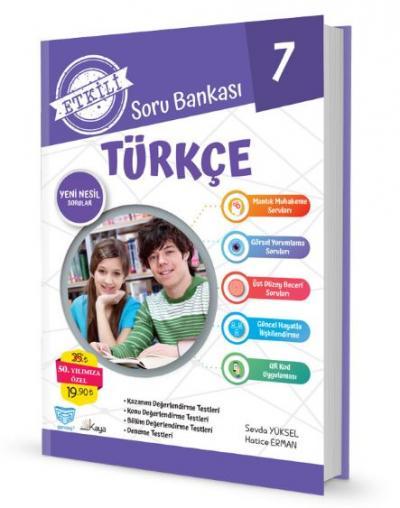 Gendaş Etkili Soru Bankası 7.Sınıf Türkçe (2019 Yeni Müfredat )