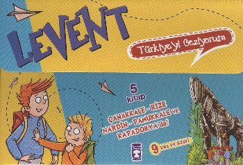 Türkiyeyi Geziyorum-1 Levent 5 Kitap Set