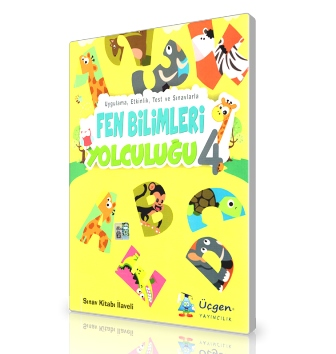 Üçgen Yayınları 4.Sınıf - Fen Bilimleri Yolculuğu + Çözümlü Sınav Eki (6'lı)