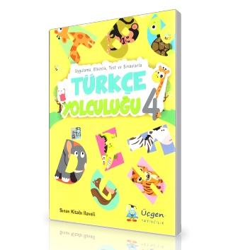 Üçgen Yayınları 4.Sınıf - Türkçe  Yolculuğu + Çözümlü Sınav Eki (6'lı)
