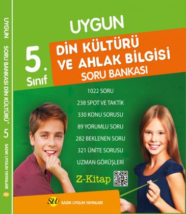 Sadık Uygun Din Kültürü ve Ahlâk Bilgisi Soru Bankası 5. Sınıf